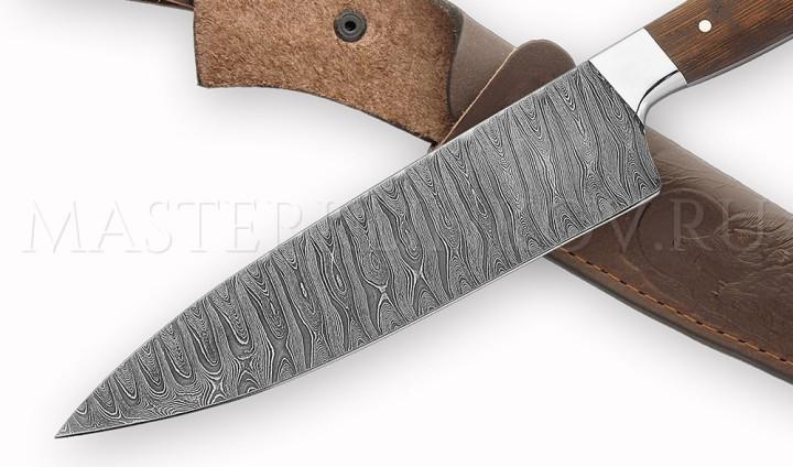 DSC00442 нож чехол кадрир дамаск